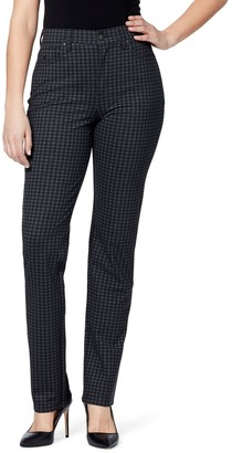 Gloria Vanderbilt Petite Amanda Ponte Tapered Jeans