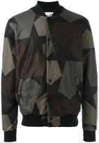 Ports 1961 camouflage print bomber jacket