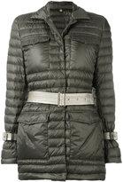 Fay puffer jacket - women - Feather Down/Polyamide/Polyester/Polyurethane - L