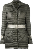 Fay puffer jacket - women - Polyester/Polyamide/Polyurethane/Feather Down - L