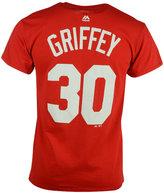 Majestic Men's Ken Griffey Sr. Cincinnati Reds Cooperstown Player T-Shirt