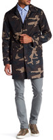 Jack Spade Camouflage Packable Rain Jacket