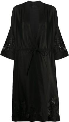 Carine Gilson Lace Panel Kimono