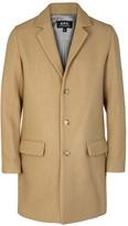 A.p.c. Lewis Camel Wool Blend Coat