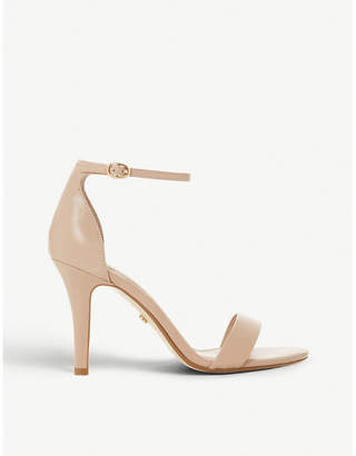 Dune Mydro patent-leather two-part sandals