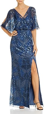 Aidan Mattox Embellished Blouson Gown - 100% Exclusive