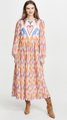 Bohemia Alix Of Tallulah Rainbow Ikat Dress