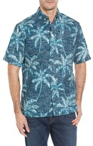 Reyn Spooner Men's Palm Seas Classic Fit Sport Shirt