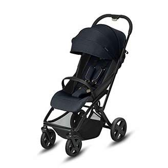 Kurt Geiger Cybex ETU Plus Ultra Compact Pushchair, Incl. Rain Cover and Travel Bag, from Birth to 15 kg, Smoky Anthracite