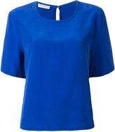 Equipment round neck top - women - Silk - S