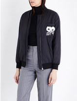Mo&Co. Oops! shell bomber jacket