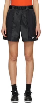 Nike Black Woven Swoosh Shorts