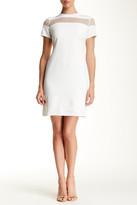Julia Jordan Mesh Combo Shift Dress\n