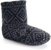 Cuddl Duds Women's Gripper Boot Slippers