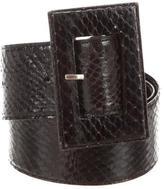 Givenchy Python Waist Belt