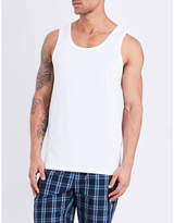 Hugo Boss Regular-fit Pack Of Three Cotton-jersey Tank Tops
