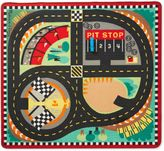 Melissa & Doug Speedway 39-Inch x 36-Foot Rug and Car Set
