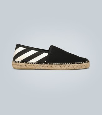 Off-White Diagonal printed espadrilles