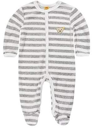 Steiff Baby Classics Nicky 0002848 Romper, Softgrey Melange, (Size:68)