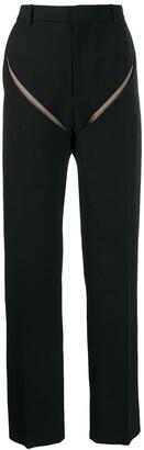 Y/Project Slash detail trousers