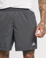 adidas shorts in grey