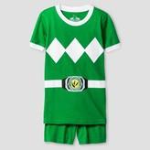 Power Rangers Boys' 2 Piece Pajama Set - Green