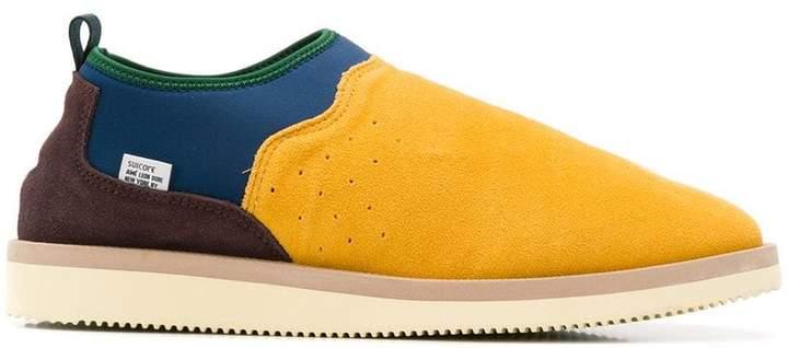 Suicoke slip-on panelled sneakers