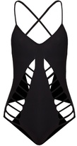 Mara Hoffman Lattice cut-out swimsuit