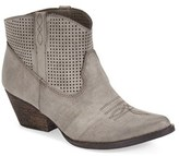 Very Volatile Women's 'Mishka' Perforated Western Bootie