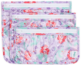 Bumkins Disney Pricness Ariel Clear Travel Bag - Set of Three