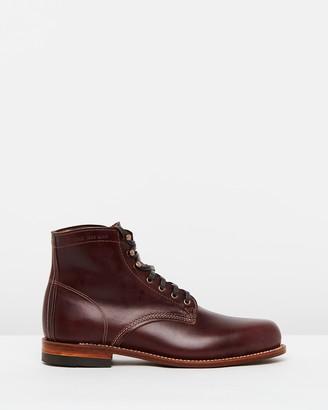 "Wolverine Original 1000 Mile 6"" Leather Boots"
