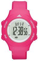 adidas Digital Pink Polyurethane Strap Watch
