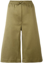 Joseph drawstring track shorts - women - Cotton/Polyamide/Spandex/Elastane - 36