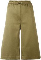 Joseph drawstring track shorts - women - Cotton/Spandex/Elastane/Polyamide - 36