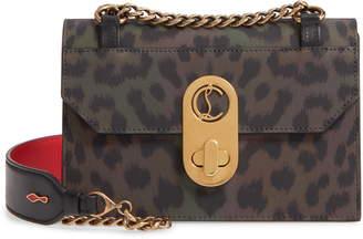 Christian Louboutin Mini Elisa Calfskin Leather Crossbody Bag