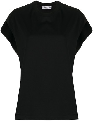 Givenchy cap sleeves T-shirt