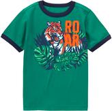 Gymboree Jungle Green 'Roar' Tiger Tee - Boys
