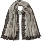 Faliero Sarti Printed Scarf with Wool