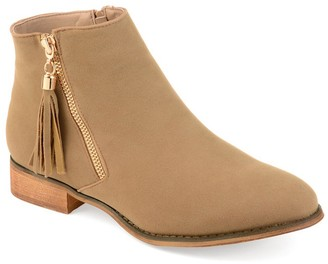 Journee Collection Trista Tassel Ankle Bootie
