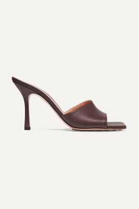 Bottega Veneta Leather Mules - Brown