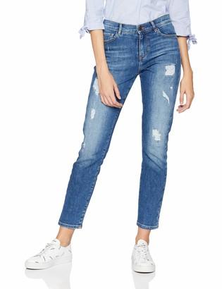 HUGO BOSS Women's J21 Roseville Straight Jeans