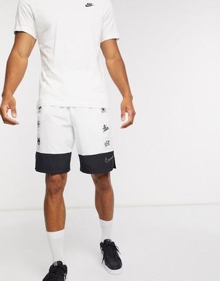 Nike Training Flex shorts in white