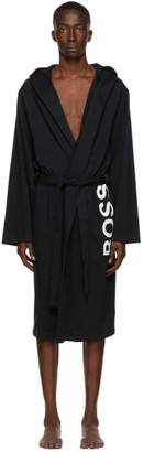 HUGO BOSS Black Identity Hooded Robe