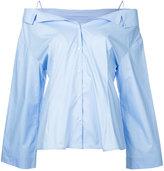 Le Ciel Bleu off shoulder blouse - women - Cotton - 36
