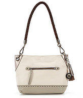 The Sak Indio Sparkle Tasseled Demi Small Hobo Bag
