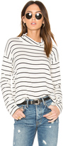 Splendid Dune Stripe Mock Neck Top