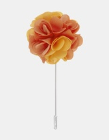 Fabric Lapel Pin - Carnation