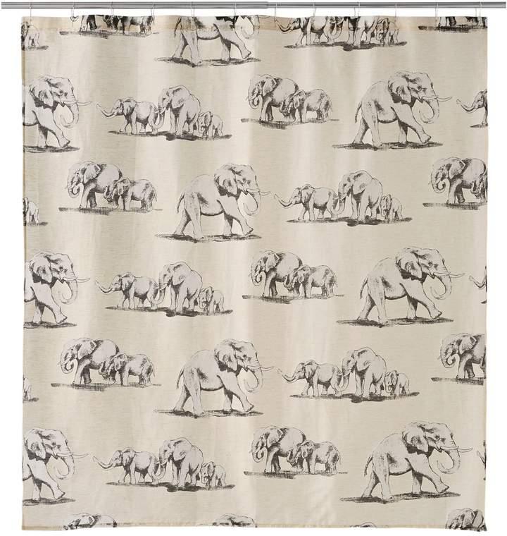 Famous Home Fashions Ghana Elephant Shower Curtain