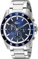 Lacoste Men's 2010856 Westport Analog Display Japanese Quartz Silver Watch