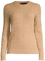 Polo Ralph Lauren Julianna Slim-Fit Cashmere & Wool Cable Knit Sweater
